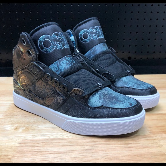 7ac328a54b3 Osiris Shoes | Mens Skateboarding Huit Skull Army | Poshmark